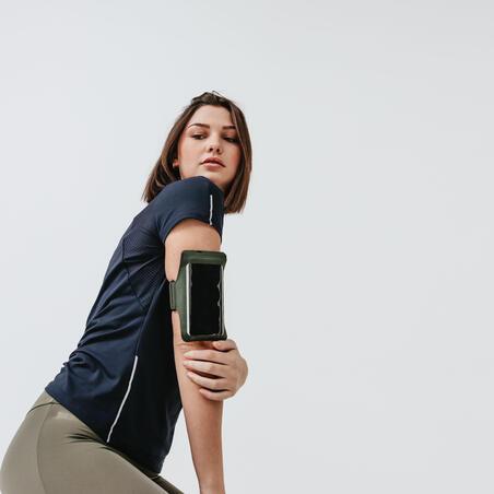 LARGE RUNNING SMARTPHONE ARMBAND - KHAKI