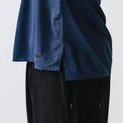 Men's Running Breathable T-Shirt Kalenji Dry+ Breath - slate blue