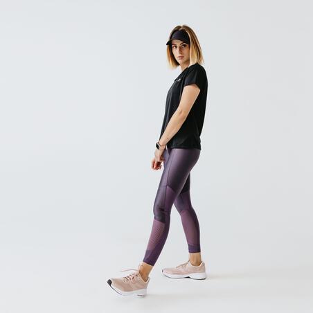 Camiseta Running Run Dry Mujer Negro