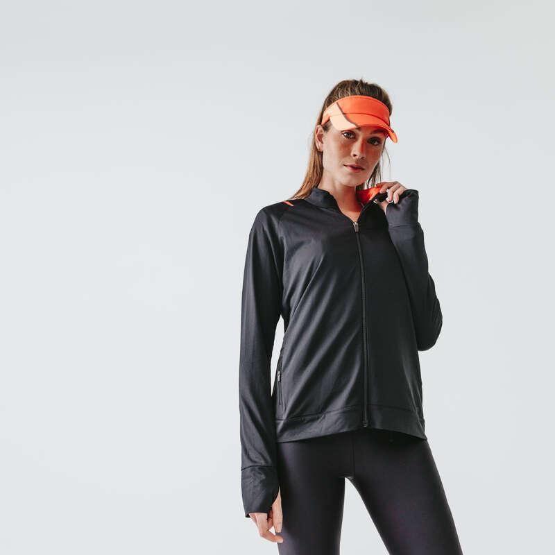 KADIN HOBİ AMAÇLI KOŞU SICAK HAVA GİYİM Koşu - RUN DRY CEKET  KALENJI - Kadın Koşu Kıyafetleri
