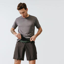 Running Comfortable Belt for Smartphone of any size and Keys - khaki