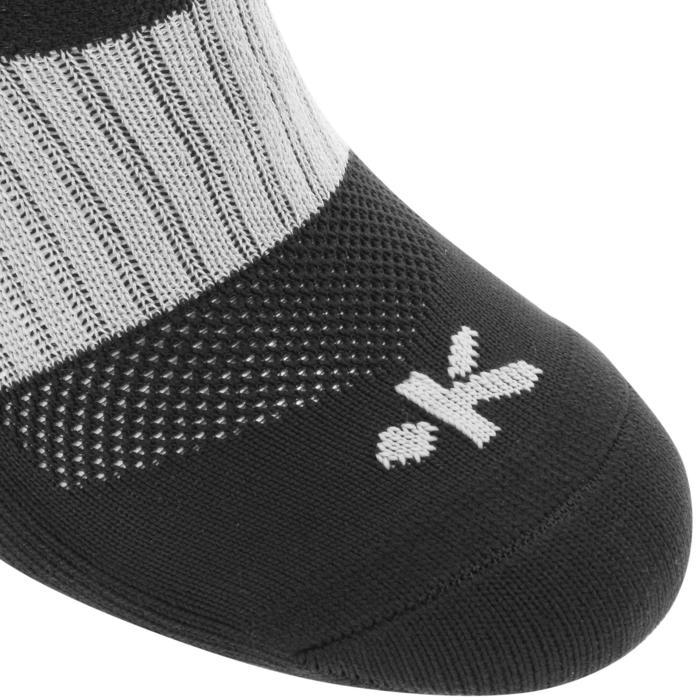 Chaussettes hautes rugby adulte R500 noire