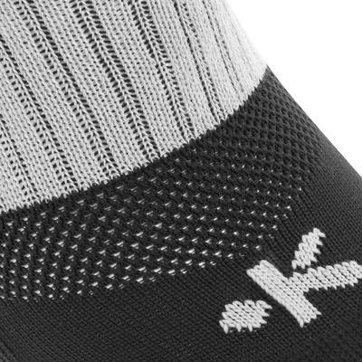 Шкарпетки R500 для регбі, для дорослих - Чорні