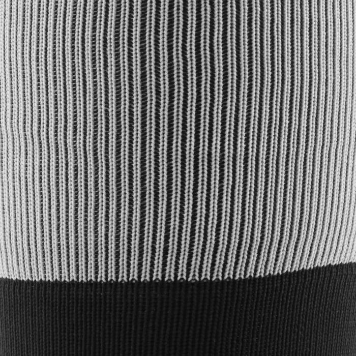 Chaussettes hautes de rugby R500 noire