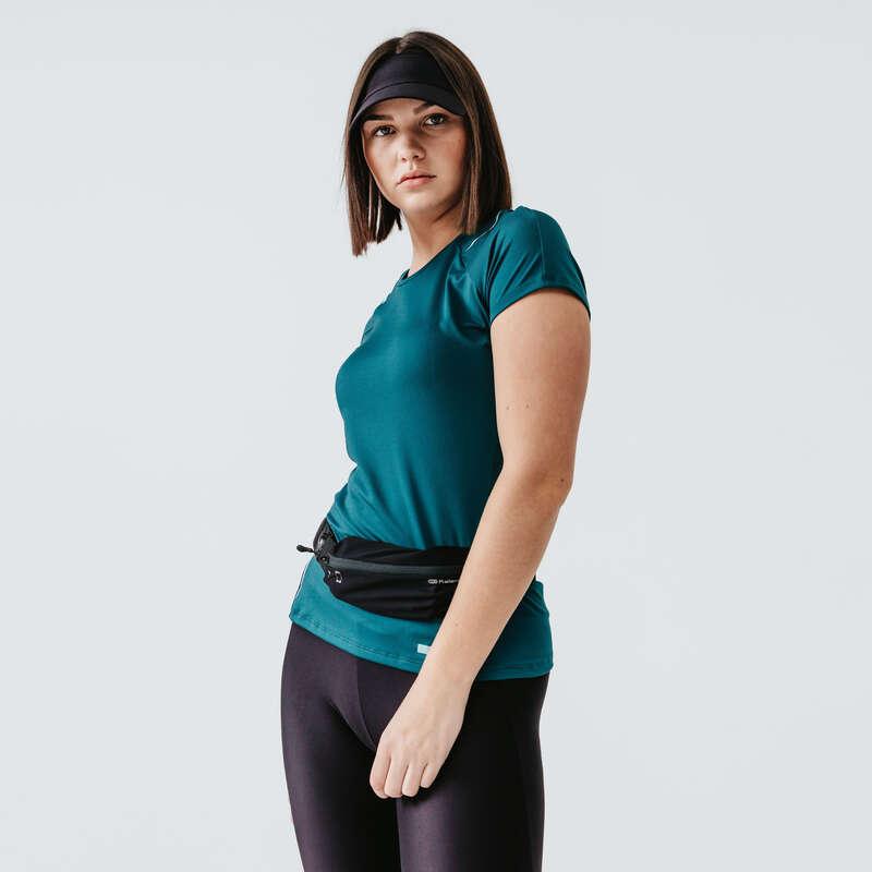 Női tavasz-nyári ruházat - rendszeres Futás - Női futópóló RUN DRY+ KALENJI - Futás