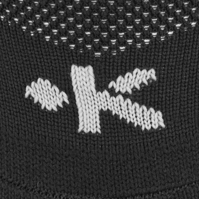 Rugby-Stutzenstrümpfe R500 hoch Kinder schwarz