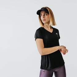 Women's Running T-Shirt Run Dry - black