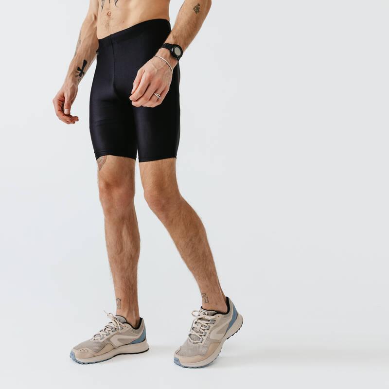 PÁNSKÉ PRODYŠNÉ OBLEČENÍ NA JOGGING Běh - BĚŽECKÉ KRAŤASY RUN DRY KALENJI - Běžecké oblečení