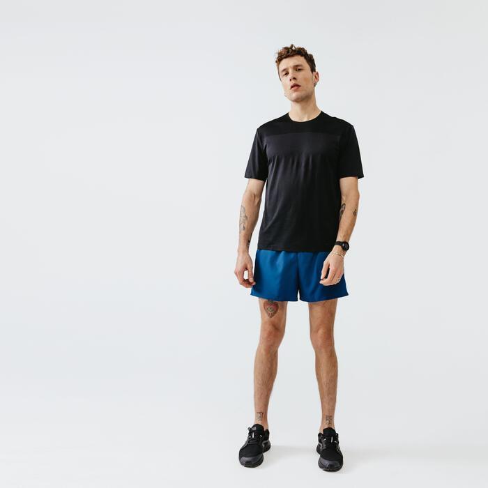Quần short chạy bộ Run Dry cho nam - Xanh Petrol