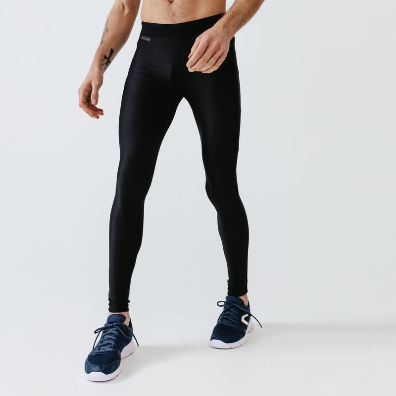 Men's Run Dry Running Tights - Black