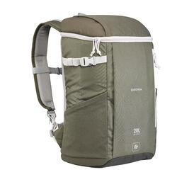 Kühlrucksack Ice Compact für Camping/Wandern 20Liter khaki
