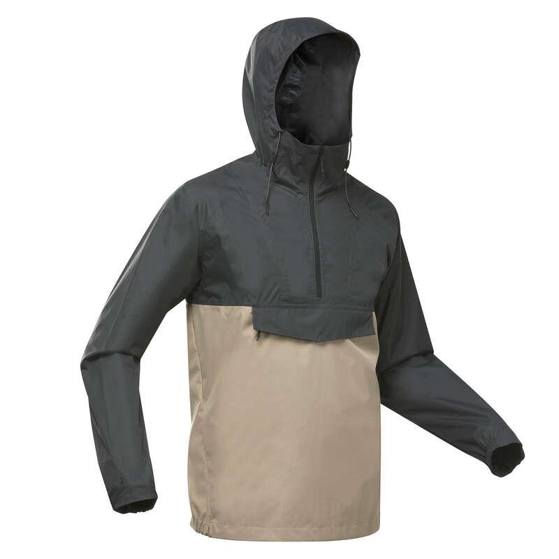 Férfi természetjárás es#kabát Tavaszi kabát, dzseki - Férfi kabát NH150 QUECHUA - Tavaszi kollekció