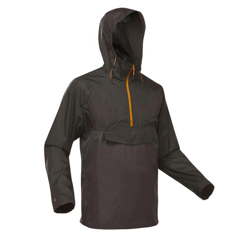 МУЖСКИЕ КУРТКИ / прогулки на природе Одежда - Куртка дождевик NH150 муж. QUECHUA - Куртки