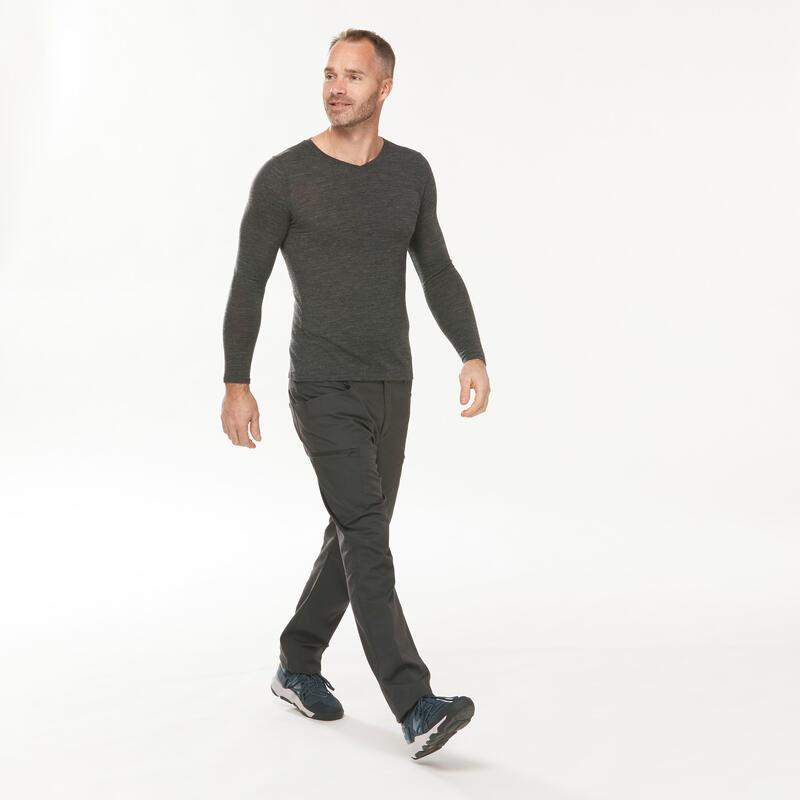 Men's regular hiking trousers - NH500