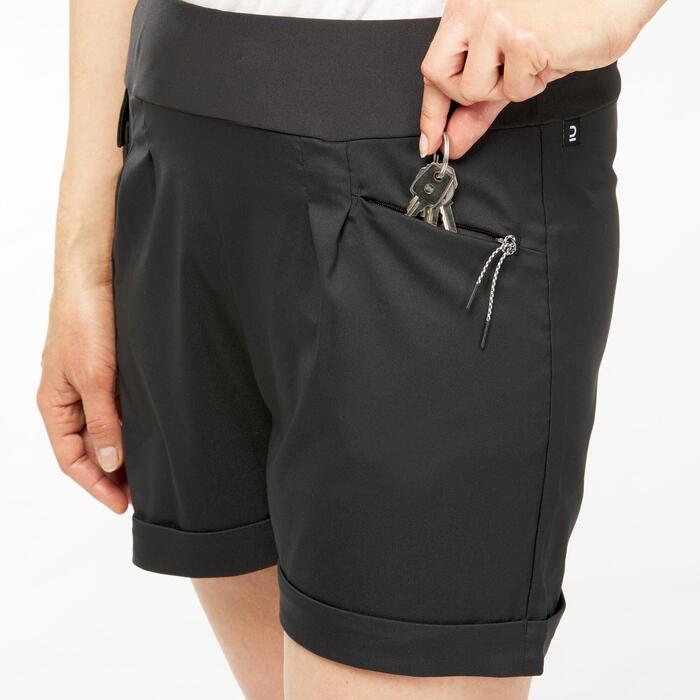 女款郊野健行短褲NH500 Regular