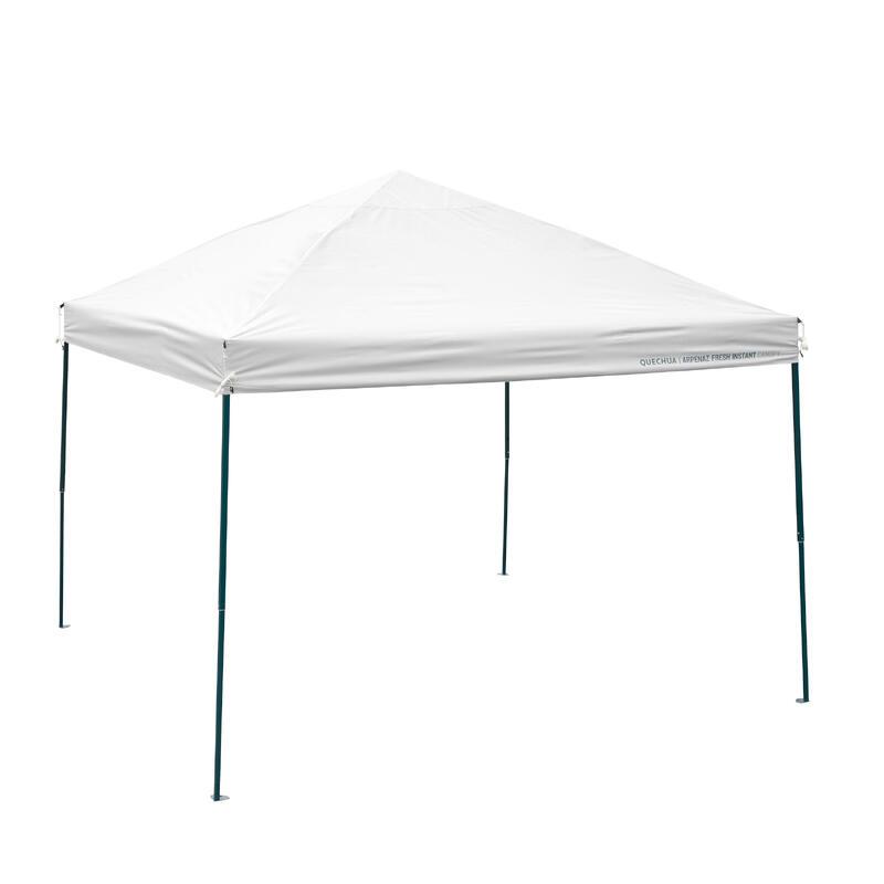 Abri Auvent de camping - Arpenaz Fresh Instant Canopy - 8 Personnes