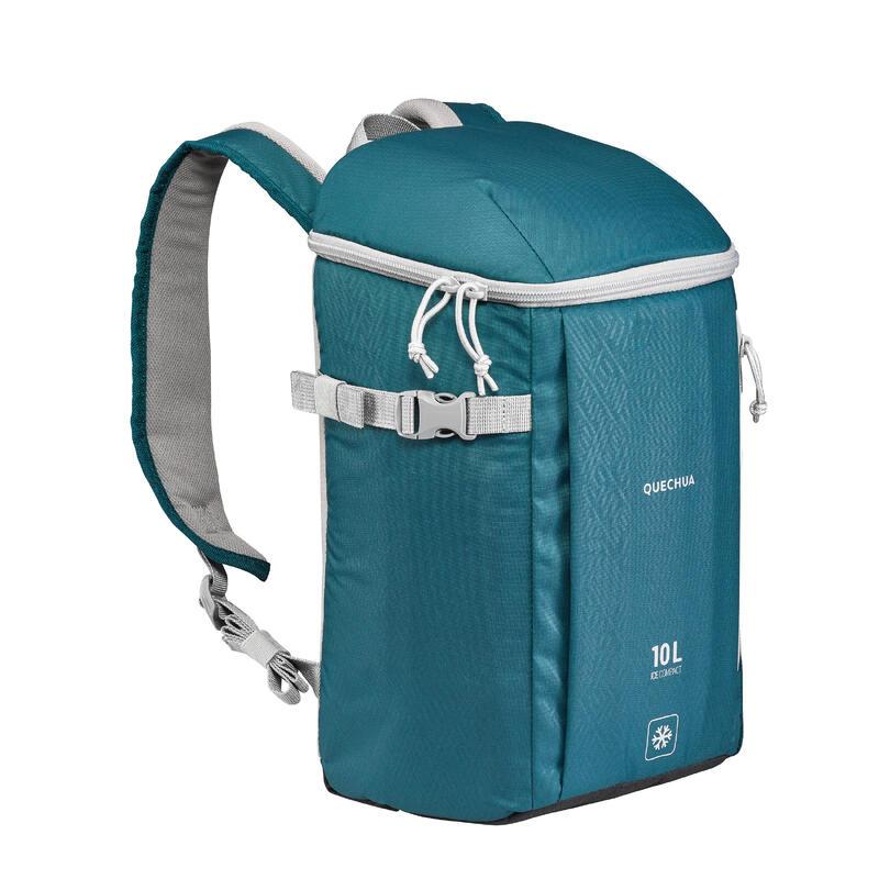 Zaino termico campeggio ICE COMPACT - 10 litri blu