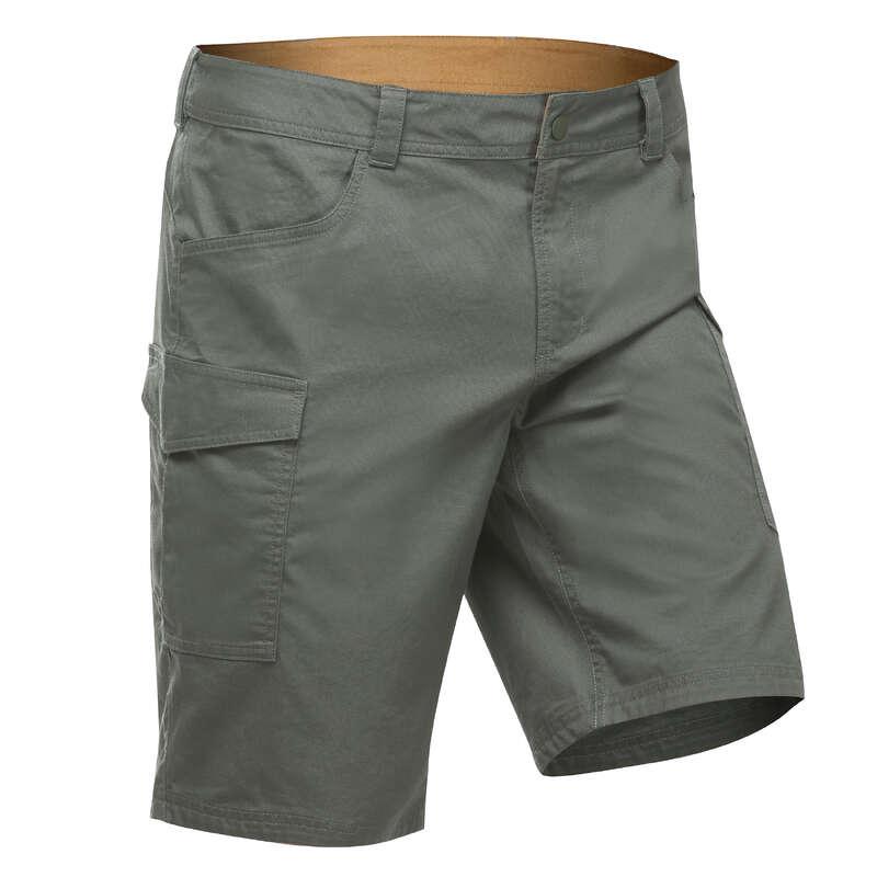 Férfi természetjárás rövidnadrág, póló Alsóruházat - Férfi rövidnadrág NH500 QUECHUA - Alsóruházat