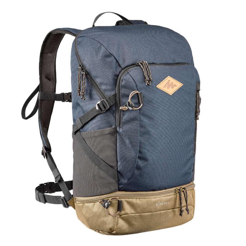 РЮКЗАКИ ДЛЯ ПРОГУЛОК 10-30 Л Рюкзаки и сумки - Рюкзак 30 л темно-синий NH500 QUECHUA - Рюкзаки