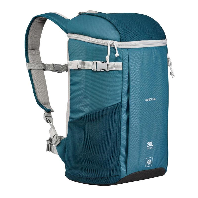 Rucsac frigorific camping/ drumeție 20 L albastru