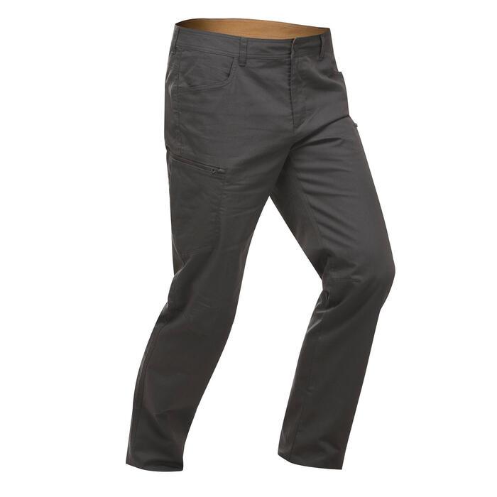 長褲NH500 Regular - 灰色