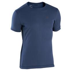 Kalenji Dry Men's Running Breathable T-Shirt - Blue Grey