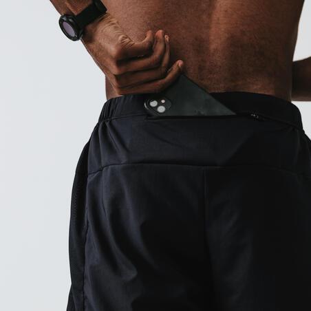 RUN DRY+ MEN'S RUNNING SHORTS BLACK