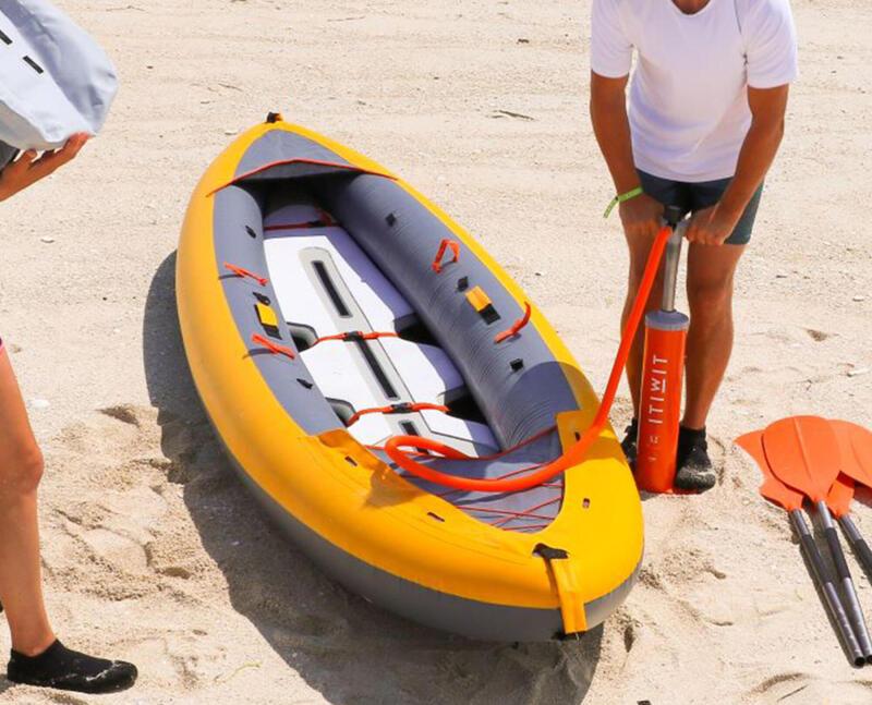 pompe kayak gonflable