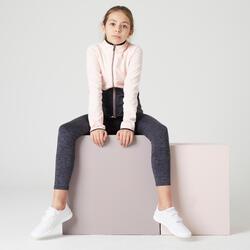 Trainingsanzug S500 Kinder rosa/dunkelgrau