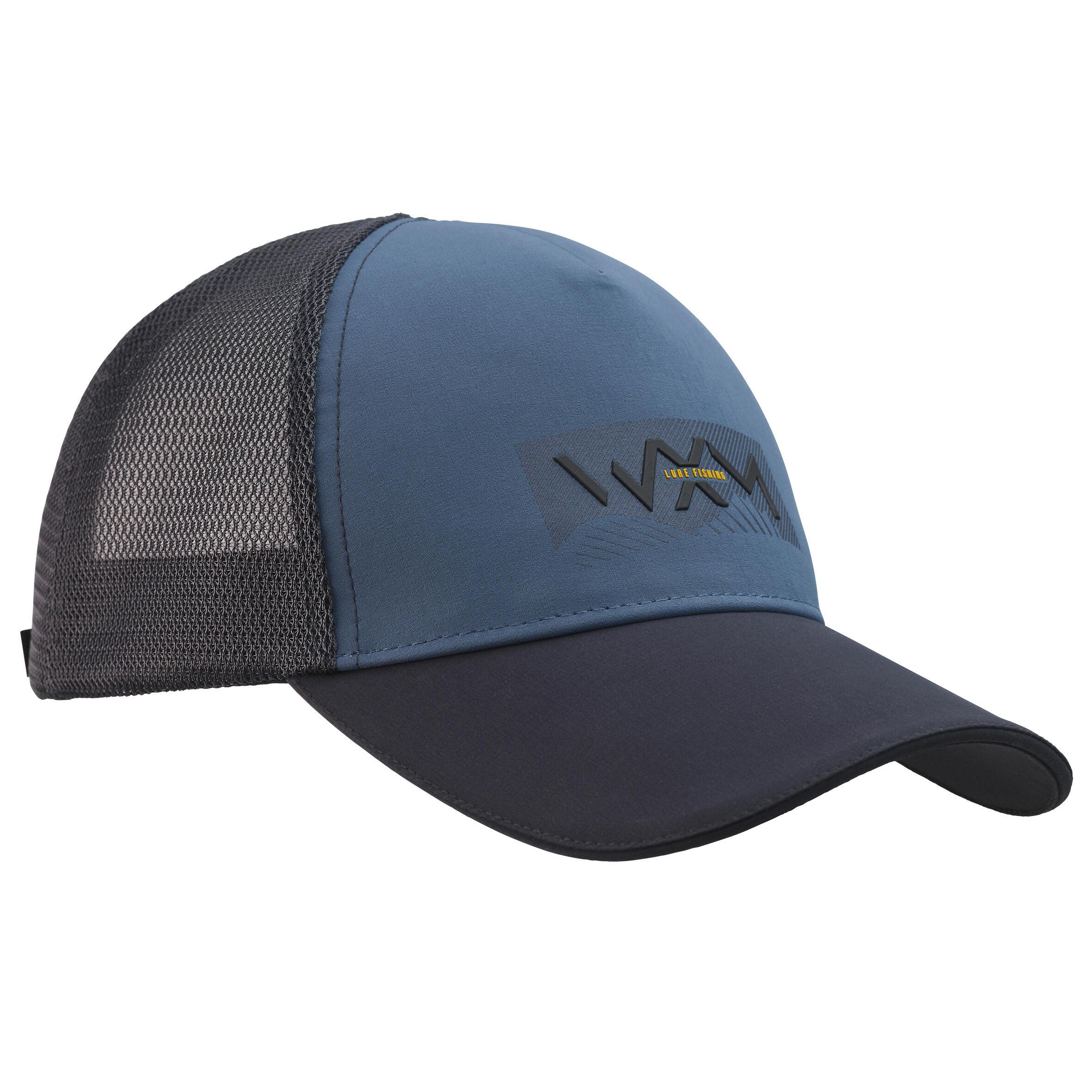 Şapcă Pescuit 900 Gri la Reducere poza