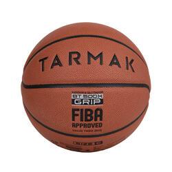 BT500X GRIP 成人款6號籃球-橘色(絕佳球感)