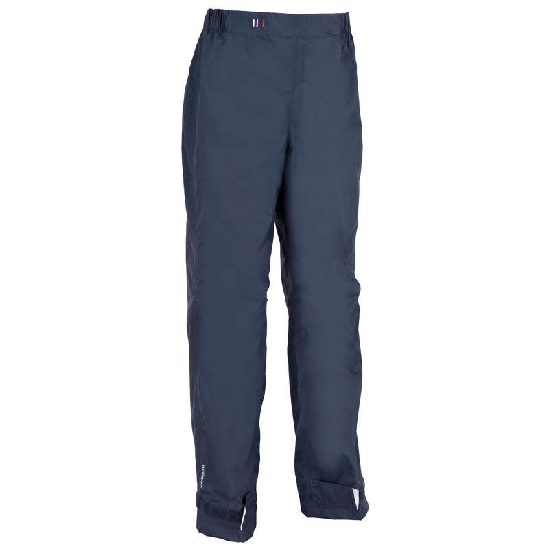 CRUISING RAINY AND COLD WEATHER JR - 100 Kids' Overtrousers - Blue TRIBORD