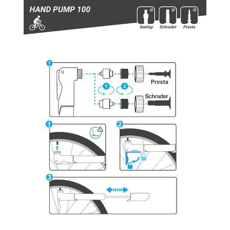Hand Pump 100 - Black