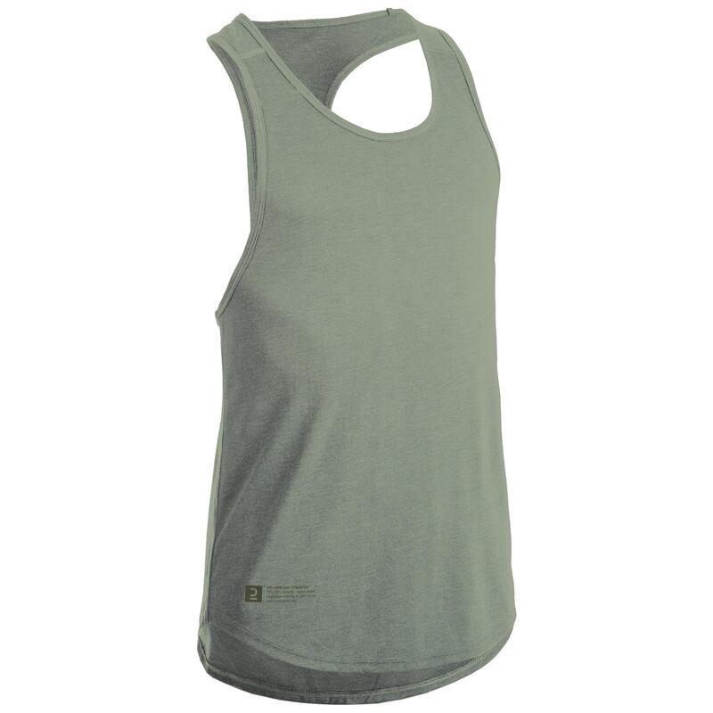 Koszulka bez rękawów do treningu siłowego stringer