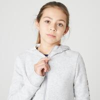 100 zip-up gym hoodie - Girls