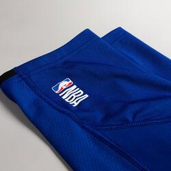 Men's Base Layer Capri Basketball Leggings - Blue/NBA Los Angeles Clippers