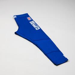 Boys'/Girls' Capri Basketball Leggings - Blue/NBA Los Angeles Clippers