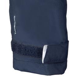 Surpantalon imperméable de voile enfant 100 bleu foncé