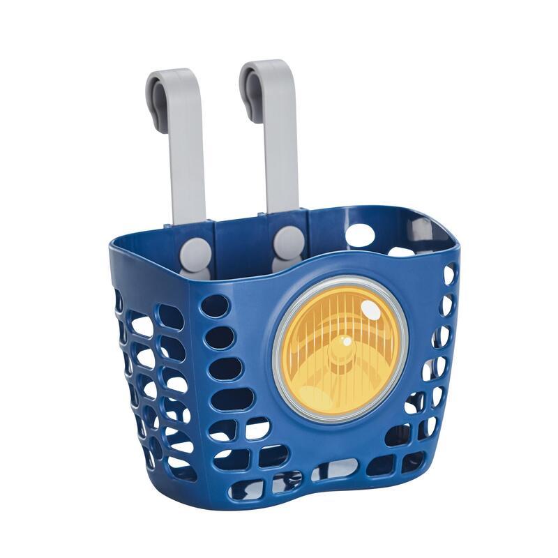 Dětský košík tmavě modrý