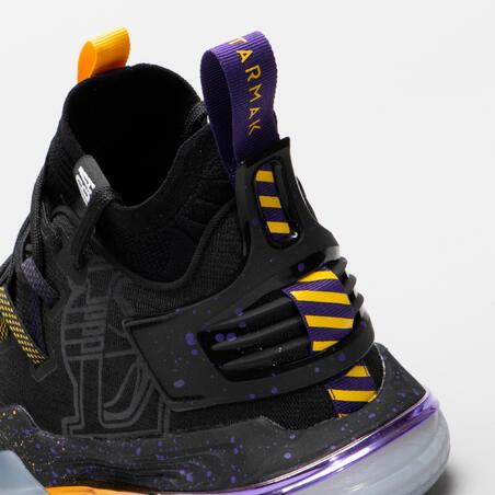 "Vīriešu basketbola apavi ""SE900"", melni / NBA Losandželosas ""Lakers"""