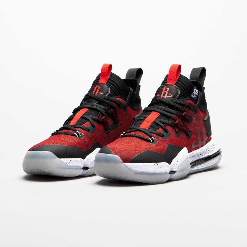 Zapatillas Baloncesto Tarmak SE900 NBA Houston Rockets Adulto Rojo
