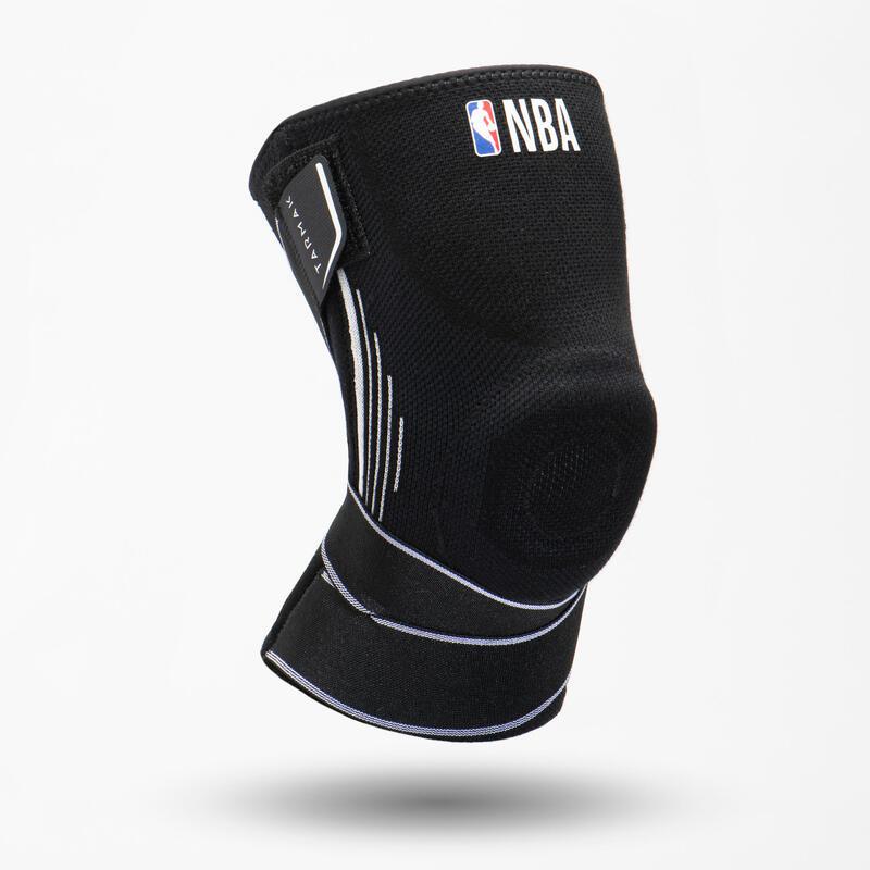 Kniebrace links/rechts voor dames/heren 500 halfhoog NBA