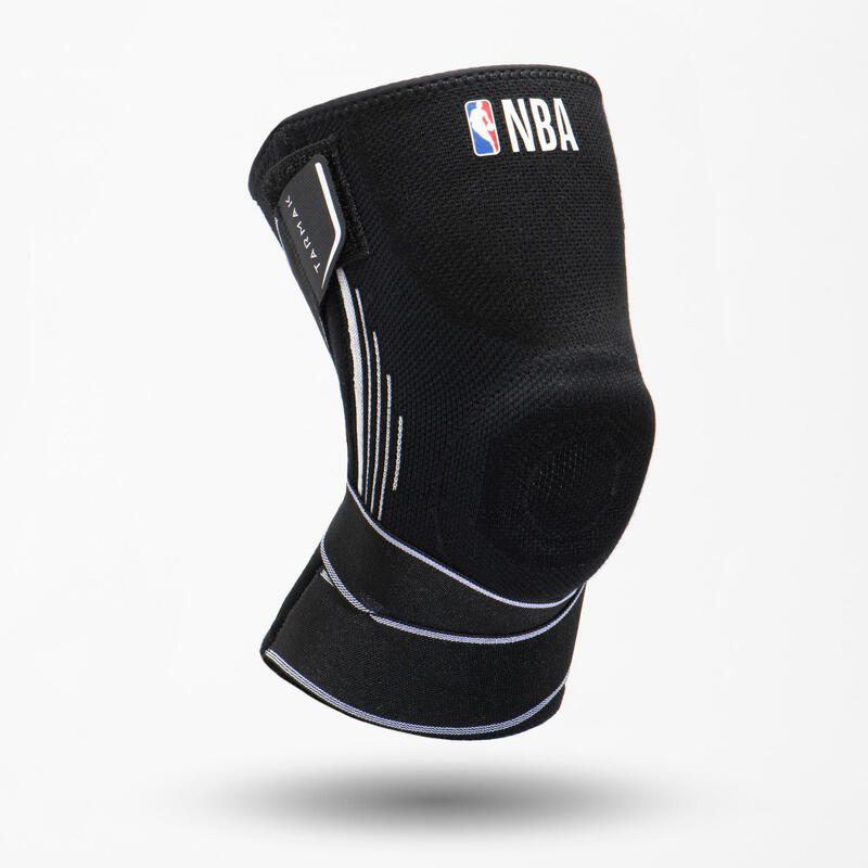 Rodillera Baloncesto Tarmak MID 500 NBA Adulto Negro