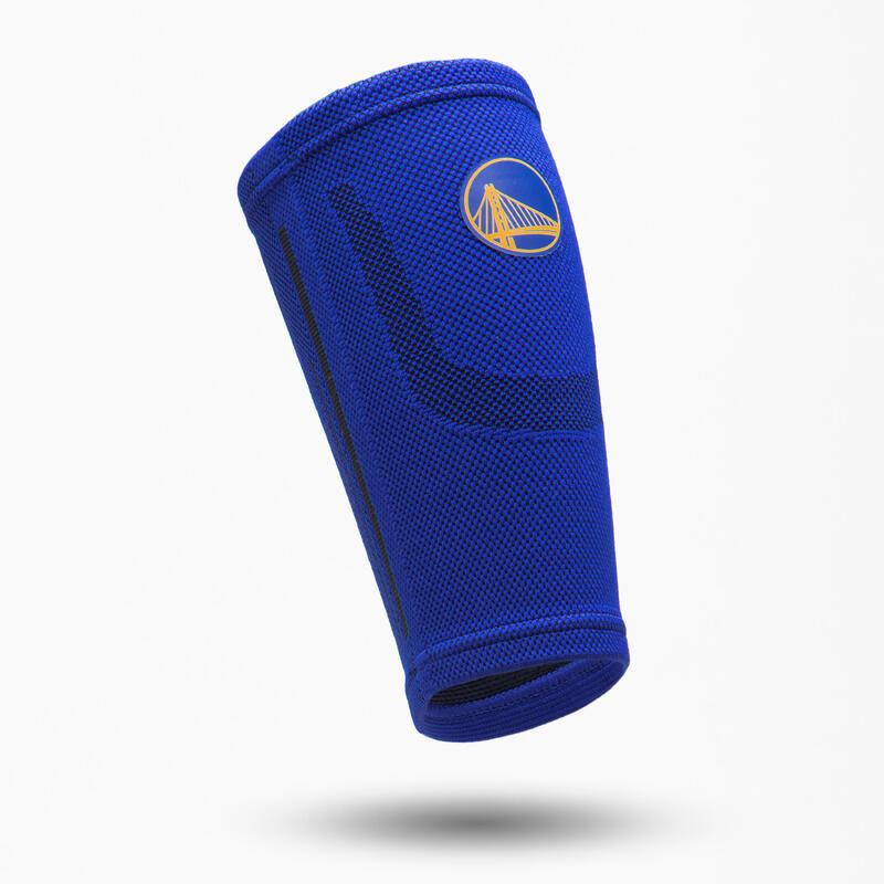 Pantorrillera Baloncesto Tarmak SOFT 300 NBA Warriors Adulto Azul