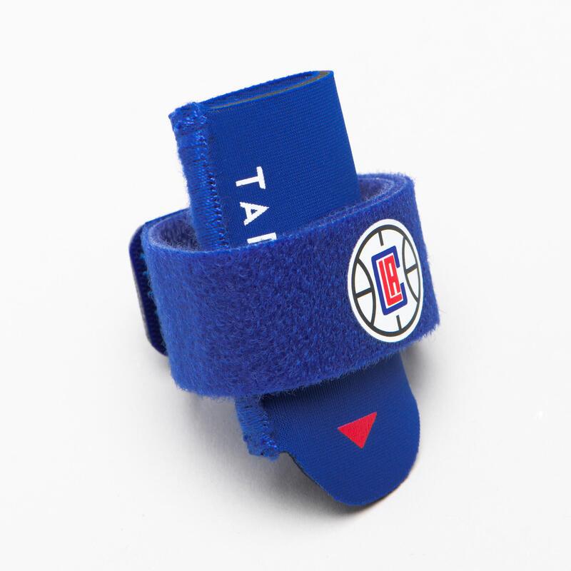 Sujeción Dedo Baloncesto Tarmak STRONG 500 NBA Clippers Adulto Azul