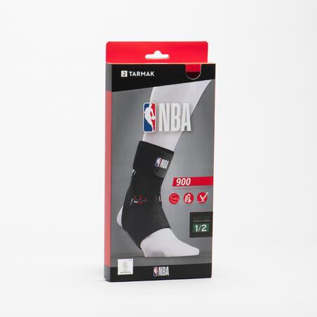Men's/Women's Right/Left Ankle Support Strong 900 - Black NBA