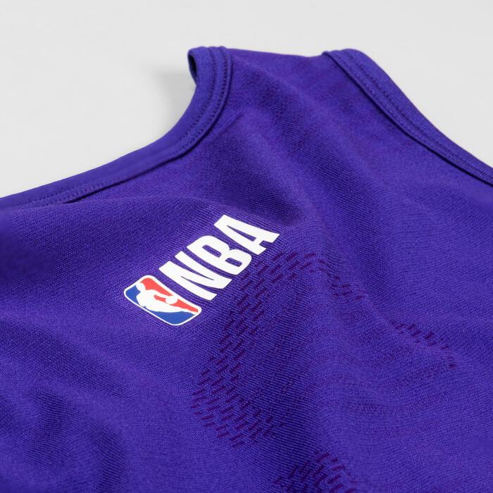 Men's Sleeveless Basketball Base Layer Jersey UT500 - NBA Los Angeles Lakers