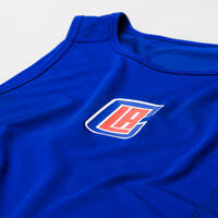 Men's Slim Fit Basketball Base Layer Jersey UT500 - NBA Los Angeles Clippers