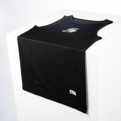 Men's Sleeveless Basketball Base Layer Jersey UT500 - Black/NBA LA Lakers