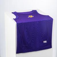 Men's Slim Fit Basketball Base Layer Jersey UT500 - NBA Los Angeles Lakers